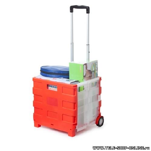 Складная сумка-тележка Pack & Roll (Пак энд ролл).
